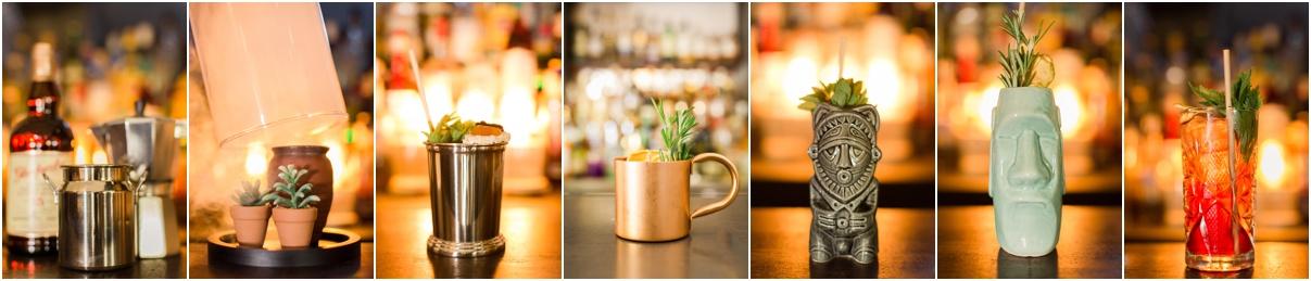 Photographies des cocktails à la Brasserie du diamant Ajaccio